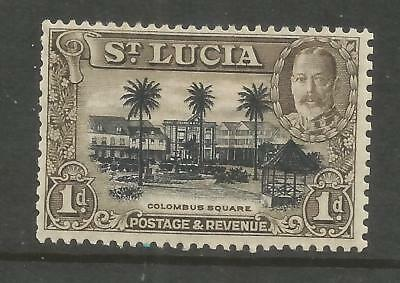 Arcade 99p Start St.Lucia 1936 1d SG114a Mint Issue