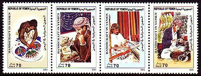 Yemen Republic 2004 ** Mi.307/10 Handwerk Handicraft