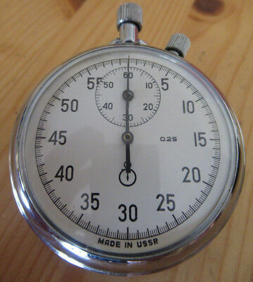 Analoge Stoppuhr    Made in USSR