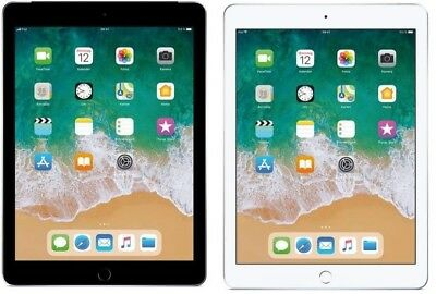 Apple iPad 6 2018 WiFi+Cellular 9.7 iOS Tablet PC ohne Simlock Kamera Bluetooth