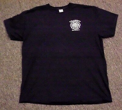 """FDNY T-Shirt """"Pride of Midtown"""", Battalion 9, Engine 54, 4 Truck, Size XL"""