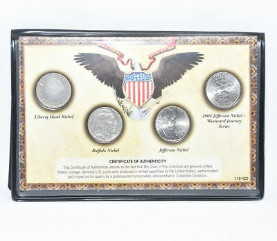 U. S. Mint 120 Years of America Classic Nickels From 1912 to Present
