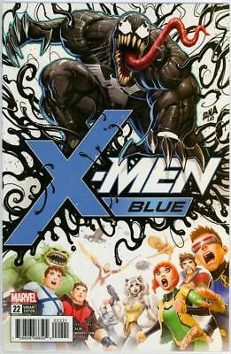X-Men Blue #22 Nakayama Venom Poison X Retail Variant 1:50 Marvel Comics Movie