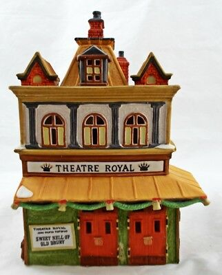 Dept 56 Dickens' Village 1989 THEATRE ROYAL MIB D10