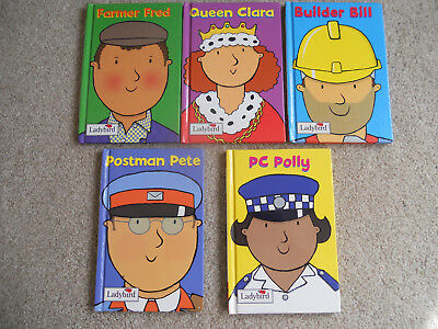 5 X Ladybird Little Workmates Hardback Books Vgc