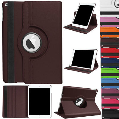 360 Rotating Smart Swivel Stand Armor Case Cover For Apple iPad 9.7 2018 6th Gen
