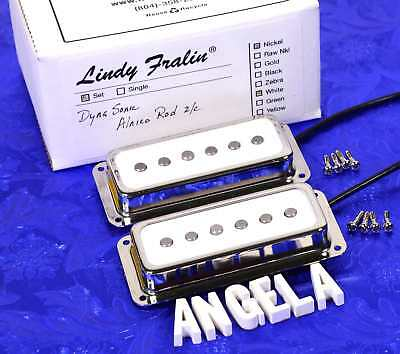 Lindy Fralin DynaSonic Alnico Rod Hum Cancelling Set of Two NEW!! Gretsch