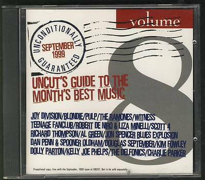 Uncut Sept 1999 Cd Joy Division Blondie Ramones Teenage Fanclub Dan Penn