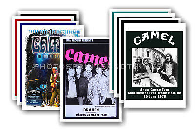 CAMEL - 10 promotional posters  collectable postcard set # 2