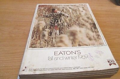 Vintage 1969  - Eaton's Fall & Winter Catalog