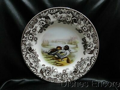 "Spode Woodland Pintail Game Bird, England: Dinner Plate (s), 10 3/4"", NEW w/ Box"