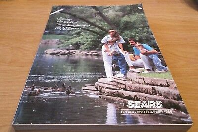Sears - 1988 Spring & Summer Catlog - Large 1023 Page Catalog!