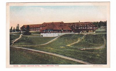 HAYNES 1914 Yellowstone Park  postcard ~ Grand Canyon Hotel