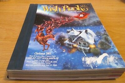 2001 Sears Wish Book - Canada's Largest Gift Catalog