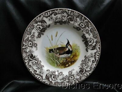"Spode Woodland Lapwing Game Bird, England: Dinner Plate (s), 10 3/4"", NEW w/ Box"