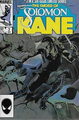 The Sword of Solomon Kane No.2 / 1985 Ralph Macchio & Bret Blevins