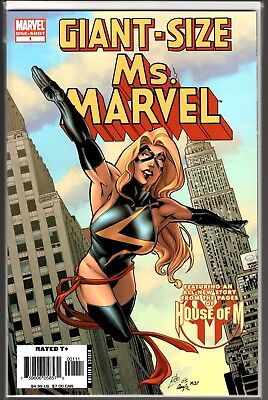 Marvel Comics GIANT SIZE MS. MARVEL #1 FIRST APPEARANCE OF CHEWIE THE CAT MOVIE