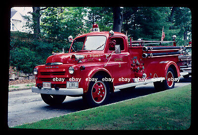Kittery Point ME 1950 Dodge Maxim pumper Fire Apparatus Slide