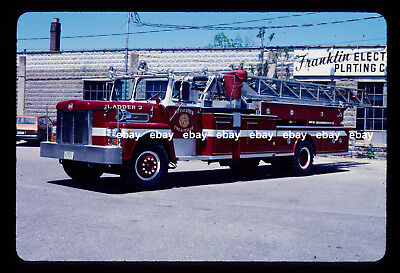 Dover NH 1975 Maxim 100' Aerial Fire Apparatus Slide