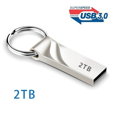 Hot Sale 3.0 Flash Drives Metal Keychain 1TB 2TB Memory USB Stick U Disk Storage
