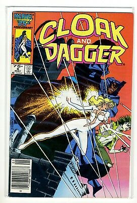 CLOAK AND DAGGER 6 F-VF Marvel