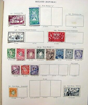 Unchecked Selection Of Ireland (Eire) Stamps.  Lot#394
