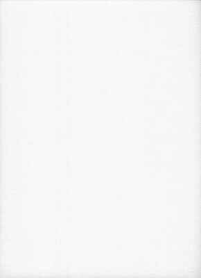 22 count Zweigart Sulta Hardanger Antique White Evenweave Fabric 49x54cms