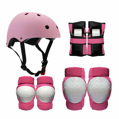 7 in 1 Kids Safe Protective Gear Set Roller Skating Helmet​ Knee Elbow Wrist Pad