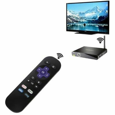 Replaced Remote Control for ROKU 1 2 3 4 LT HD XD XS Player with 4 Shortcut Key