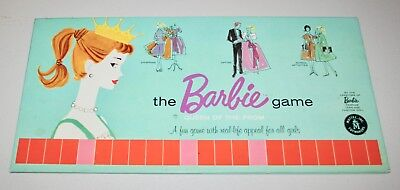 1960 BARBIE QUEEN OF THE PROM - Game board only - Super Cool graphics