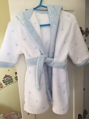 Boys Dressing Gown 6-9 Months