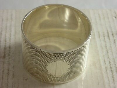 SUPERB 1965 Emile Viner Silver Napkin Ring 51 grams great condition