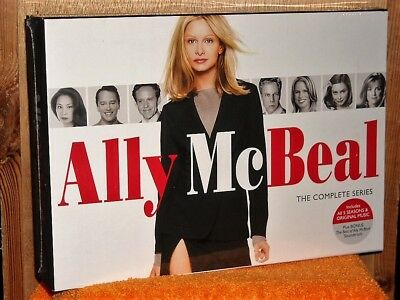 Ally McBeal: The Complete Series (DVD, 2009, 31-Disc Set) NEW Calista Flockhart