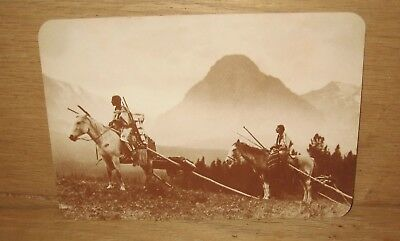 The Blackfoot Indians Old West Collector Series Unposted Postcard