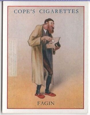 Fagin Charles Dickens Character Oliver Twist c80  Y/O Ad Trade Card