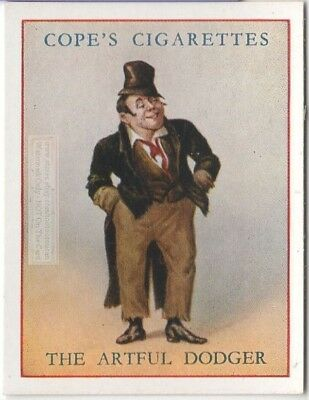 Artful Dodger Charles Dickens Character Oliver Twist c80  Y/O Ad Trade Card