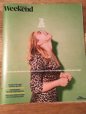 FLORENCE PUGH Lady Macbeth PHOTO INTERVIEW UK Guardian MAGAZINE October 2018
