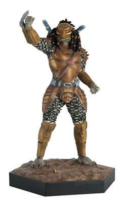 "Alien Vs Predator Figurine Collection #46 ""top-Knot Predator"" (Eaglemoss)"