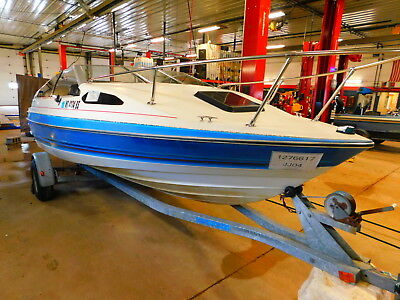 19' Bayliner Capri 3.0 OMC In/Outboard Escort Trailer T1276617