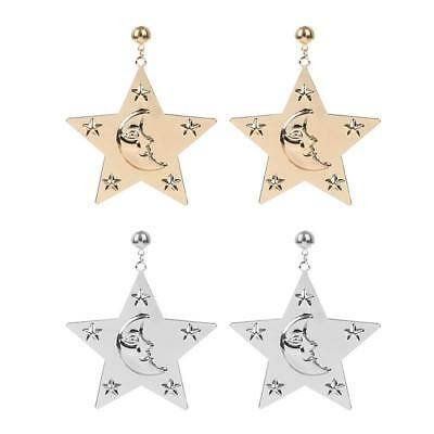 Big Star Earring Fashion Jewelry Hyperbole Punk Style Ear Jewelry Q