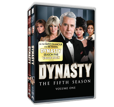 Dynasty: The Fifth Season Vol. 1 & 2 (DVD, 2011, 8-Disc Set) *New, Still Sealed*