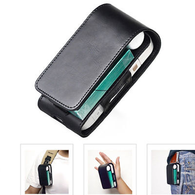 1Pc iQOS Electronic Cigarette Leather Pouch Bag Case Box Holder Storage