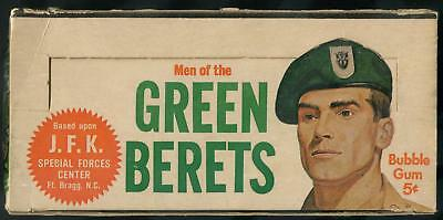 1966 Philadelphia Men Of The Green Berets 5-Cent Display Box
