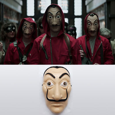 5ea672588 Salvador Dali Money Heist The House of Paper La Casa De Papel COSTUME MASK