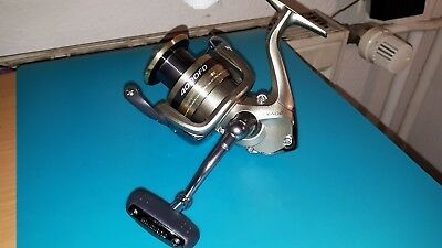 Angelrolle, Spinnrolle Shimano Exage 4000 FD gebraucht Top