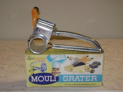 Vintage Mouli Cheese Grater In Original Box  Made in France