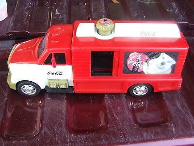 Coca Cola Delivery Truck by Matchbox Year 2000 Works Perfectly