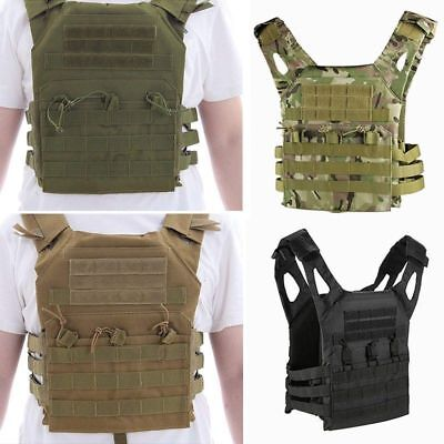 Tactical Field Vest Breathable Training Security Guard Waistcoat Airsoft Unisex