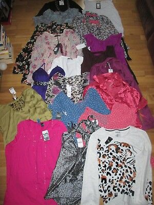 21x job lot next m&s new look lipsy river island ladies tops brand new tags 10