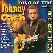 Ring of Fire and Other Great Hits Live von Johnny Cash   CD   Zustand gut
